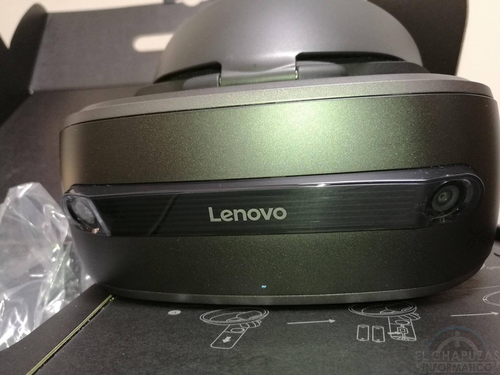 Vistazo de cerca a las Lenovo Explorer, la Realidad Virtual