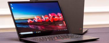 Lenovo ThinkPad X1 Extreme: Pantalla 4K y una insulsa GeForce GTX 1050 Ti MaxQ