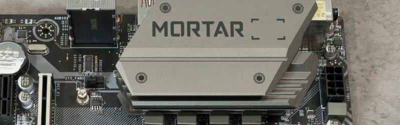 Review: MSI B450M Mortar