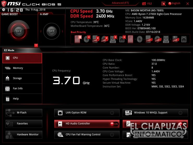 MSI B450M Mortar BIOS 01 740x555 29