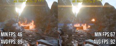 Benchmark de 7 juegos con y sin el DRM Denuvo en sus entrañas