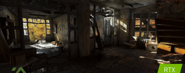 Metro Exodus se muestra en un gameplay con la tecnología Nvidia RTX