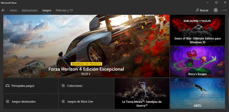 Microsoft Store juegos 740x362 0