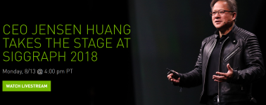 [Finalizado] Nvidia SIGGRAPH 2018, Next-Gen de GPUs Quadro