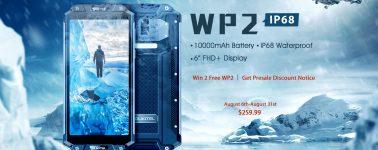 Oukitel WP2: Rugerizado de 6″ con doble cámara, NFC y batería de 10.000 mAh