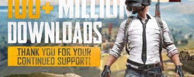 El PlayerUnknown's Battlegrounds Mobile supera las 100 millones de descargas