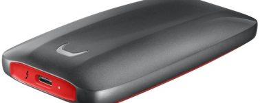 Samsung Portable SSD X5: SSD externo ultrarrápido con puerto Thunderbolt 3