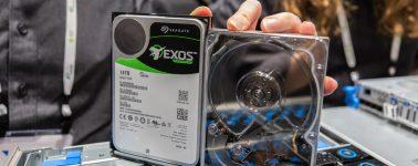 Seagate lanzará discos duros de 20 TB en 2020, de 50 TB en 2026