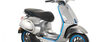 Vespa comenzará con la producción de su moto eléctrica en Septiembre