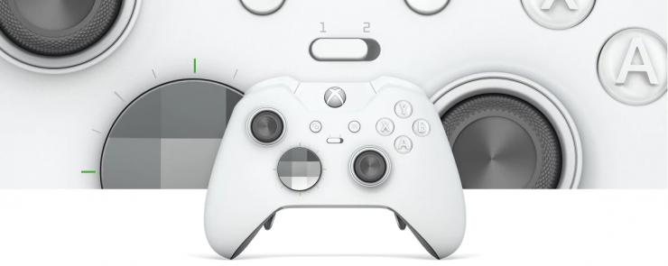 Xbox One Elite Controller Blanco 740x295 0