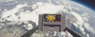 Un joven de 14 años envía al espacio una copia de EarthBound de SNES