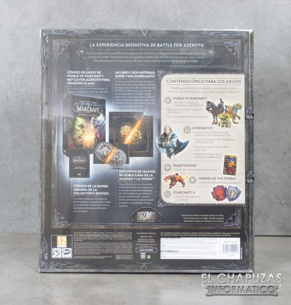Caja edición coleccionista World of Warcraft Battle for Azeroth2 572x600 1
