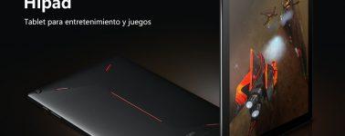 Chuwi Hipad, tablet 'gaming' de 10.1″ con procesador de 10 núcleos