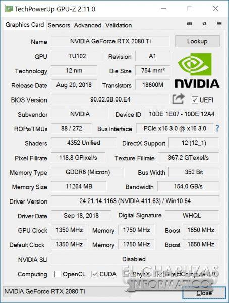 EVGA GeForce RTX 2080 Ti XC Ultra 24 454x600 24