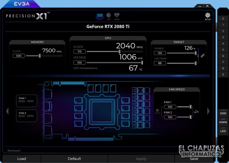 EVGA GeForce RTX 2080 Ti XC Ultra 25 740x526 69
