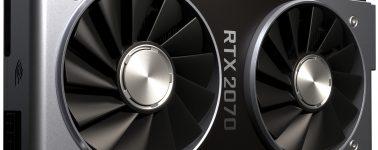 La GeForce RTX 2070 aparece por 3DMark, ligeramente más rápida que la GeForce GTX 1080