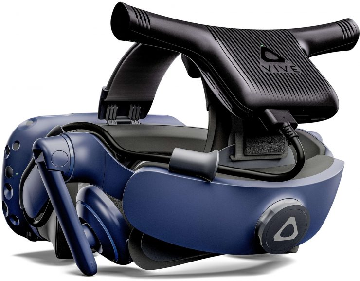 HTC Vive Wireless Adapter en las HTC Vive Pro 740x577 1