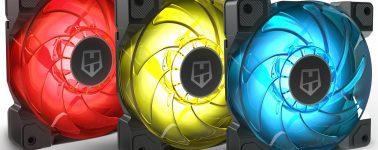 Nox Hummer H-Sync: Pack de 3x ventiladores RGB de 120 mm