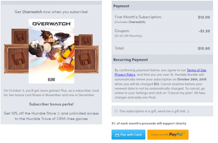 Overwatch humble bundle 740x485 0