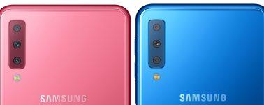 Samsung Galaxy A7 (2018) anunciado: Panel Super AMOLED y triple cámara trasera