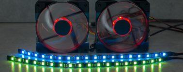 Review: Sharkoon Pacelight RGB Illumination Set
