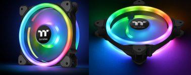 Thermaltake lanza sus Riing Trio 14 LED RGB Radiator Fan TT Premium