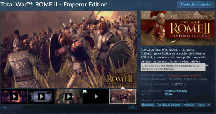 Total War Rome 2 valoraciones steam 740x390 1