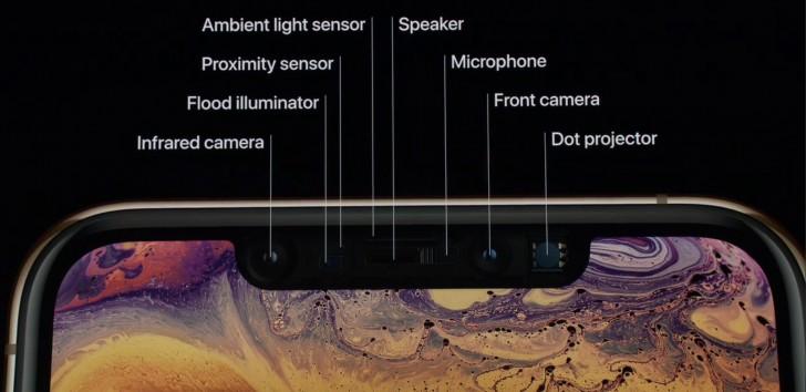iPhone xS notch 1
