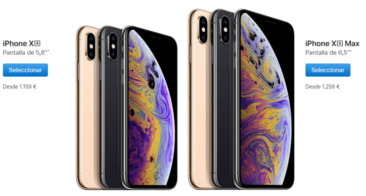 iPhone xs y iPhone xs Max Precio 740x396 0