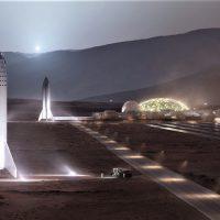 Para crear la primera ciudad sostenible en Marte se necesitarán 1.000 viajes y 20 años, según Musk