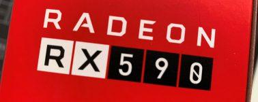 """La Radeon RX 590 es """"un 12% más rápida"""" que la Radeon RX 580"""