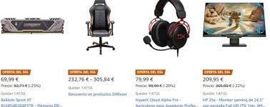 Arranca el Amazon Gaming Week, rebajas en productos gaming