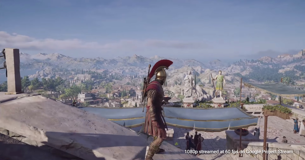 Google probará Assassin's Creed Odyssey en Chrome — Project Stream