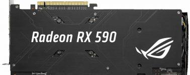 La Asus ROG Strix Radeon RX 590 Gaming ya está de camino