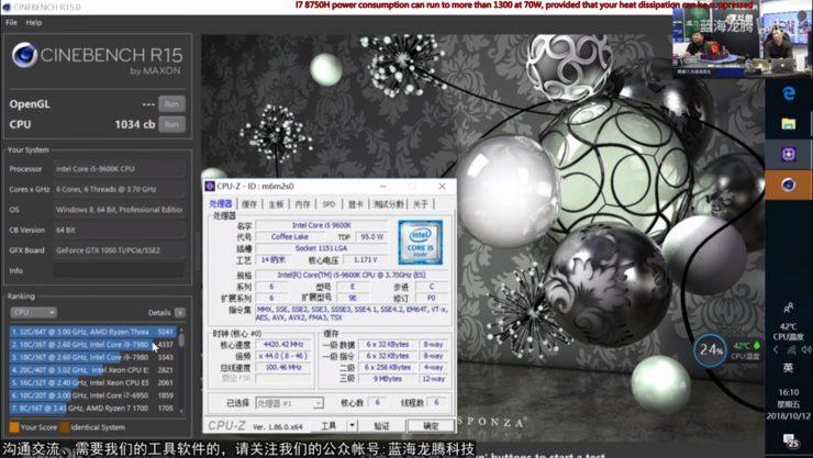 Core i5 9600K cinebench r15 1 740x417 1