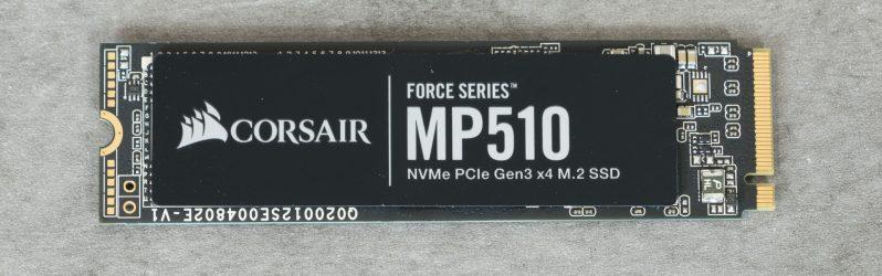 Review: Corsair Force Series MP510 (SSD M.2 PCIe Gen3x4 NVMe)