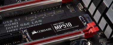 Corsair Force Series MP510: SSDs M.2 para el segmento tope de gama