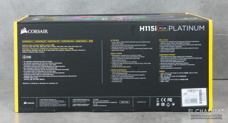 Corsair H115i RGB Platinum 03 1 740x402 7