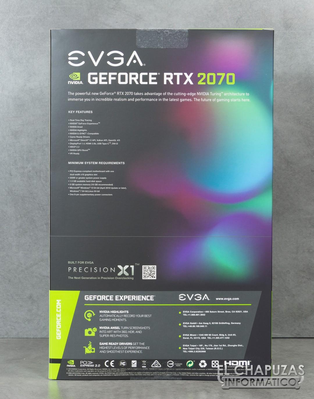 Review: EVGA GeForce RTX 2070 Black