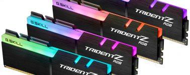 G.Skill lanza sus Trident Z RGB @ 4266 y 4000 MHz pensando en los nuevos Intel Core X