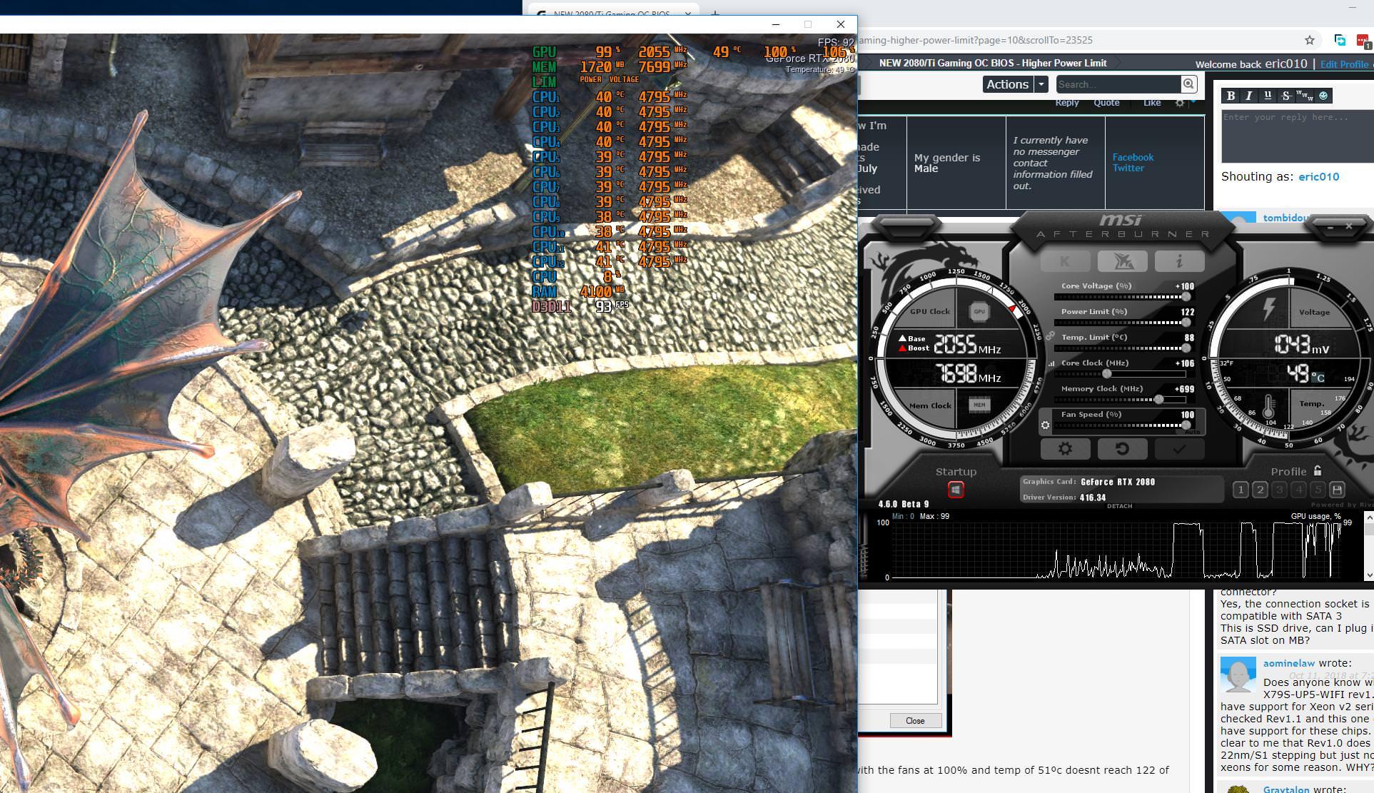 La Gigabyte RTX 2080 Ti Gaming OC recibe una nueva BIOS que