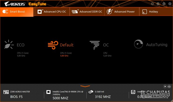 Gigabyte Z390 Aorus Master Software 02 740x434 49
