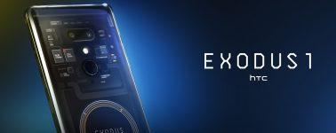 HTC Exodus 1 un smartphone y cartera de criptomonedas