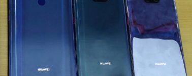 Se filtran las maquetas del Huawei Mate 20, Mate 20 Pro y Mate 20X