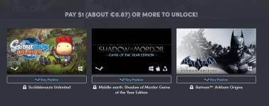 Sombras de Mordor y Batman por 0.87€ en el Humble Bundle