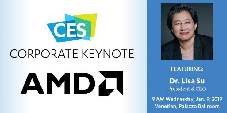 Lisa Su Keynote AMD CES 2019 740x370 0
