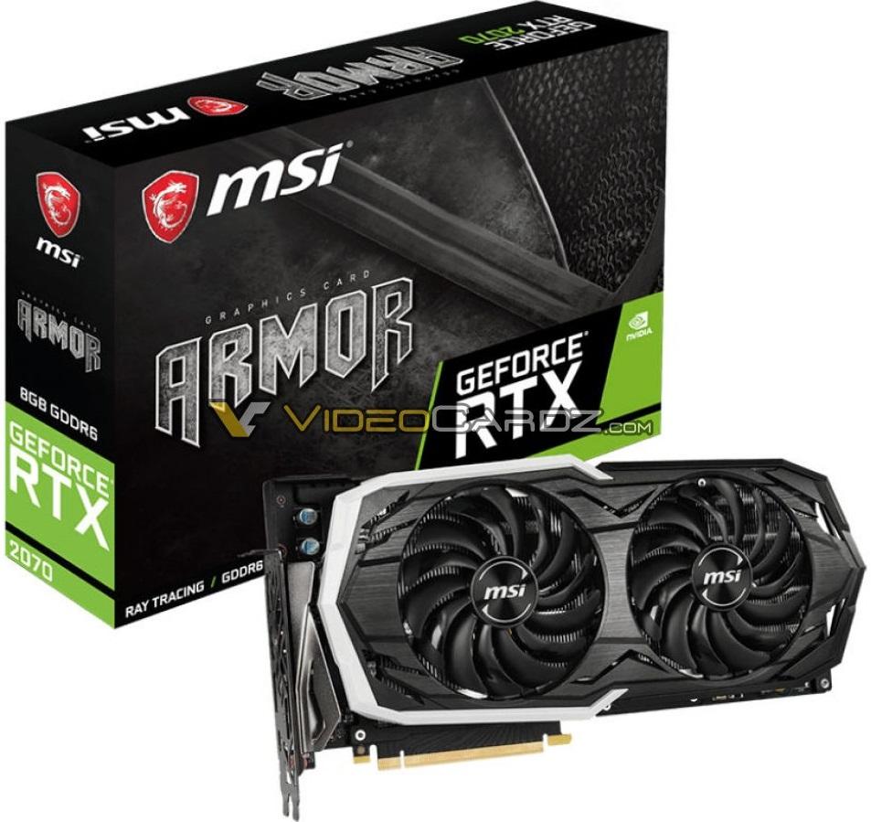 MSI GeForce RTX 2070 ARMOR 1