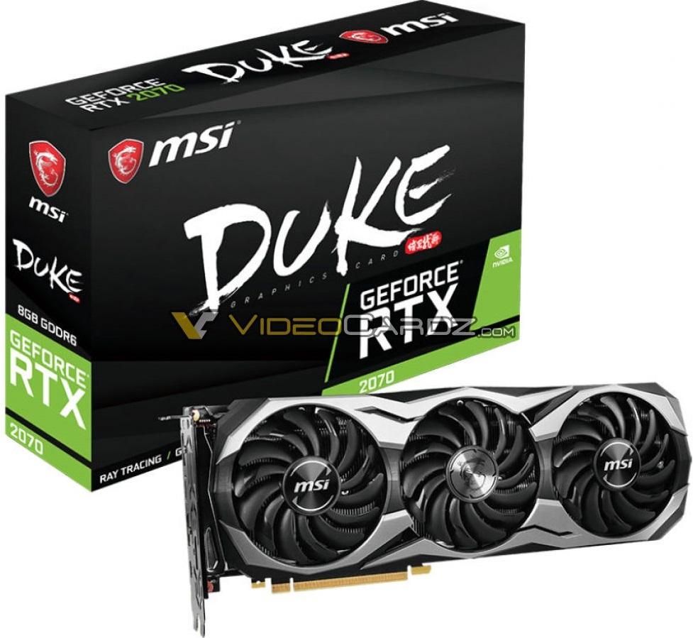 MSI GeForce RTX 2070 DUKE 2
