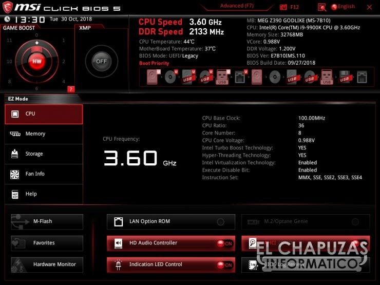 MSI MEG Z390 Godlike BIOS 01 740x555 47