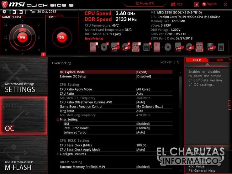 MSI MEG Z390 Godlike BIOS 03 740x555 49